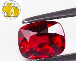 Certified Unheated Dark Red Mahenge Spinel (Tanzania) $1,250