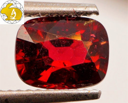 Certified Unheated 1.99 CT Dark Red Mahenge Spinel $1,550