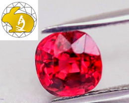 Certified Unheated Vibrant Red Mahenge Spinel (Tanzania) $2,200