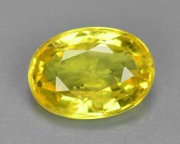 1.20 Carat Very Rare Yellow Color Natural Sapphire Loose Gemstones