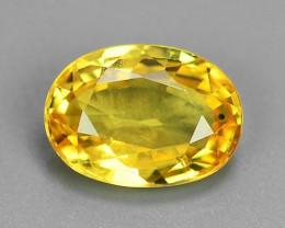 1.12 Carat Very Rare Yellow Color Natural Sapphire Loose Gemstones