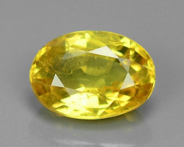 1.19 Carat Very Rare Yellow Color Natural Sapphire Loose Gemstones