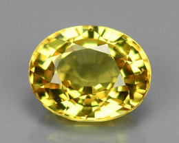 1.40 Carat Very Rare Yellow Color Natural Sapphire Loose Gemstones