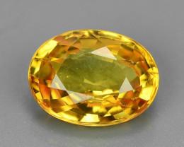 1.08 Carat Very Rare Yellow Color Natural Sapphire Loose Gemstones