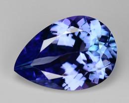 2.01 Ct Tanzanite Top Quality Gemstone. TZ06