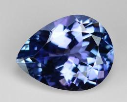 1.79 Ct Tanzanite Top Quality Gemstone. TZ07
