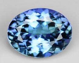 1.66 Ct Tanzanite Top Quality Gemstone. TZ14