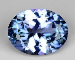 1.60 Ct Tanzanite Top Quality Gemstone. TZ16
