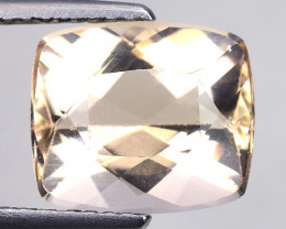 3.13 Cts Morganite Awesome Color and Luster Gemstone M3