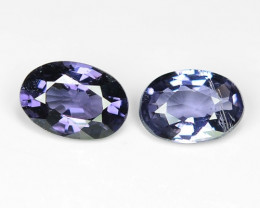 1.00 Ct Spinel Pair Top Quality Luster SPJ 04