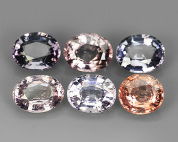 7.45~CTS GENUINE NATURAL ULTRA RARE COLLECTION OVAL FANCY SPINEL~$630.00