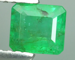EXQUISITE NATURAL UNHEATED GREEN EMERALD OCTAGON ZAMBIA!!