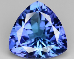 1.36 Cts Tanzanite Faceted Gemstone Awesome Color & Cut TZ6