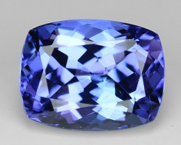 1.77 Cts Tanzanite Faceted Gemstone Awesome Color & Cut TZ7