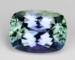1.73 Cts Tanzanite Faceted Gemstone Awesome Color & Cut TZ9