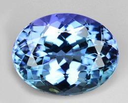 1.63 Cts Tanzanite Faceted Gemstone Awesome Color & Cut TZ12