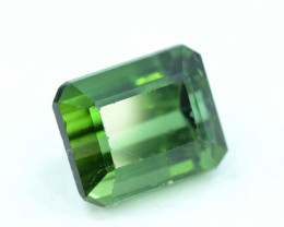 3.25 cts Emerald Step Cut  Natural Green Tourmaline Gemstone