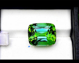 Tourmaline, 18.75 Carat Green Color Natural Tourmaline Gemstone