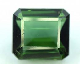 3.35 cts Emerald Step Cut emerald green colorNatural Tourmaline