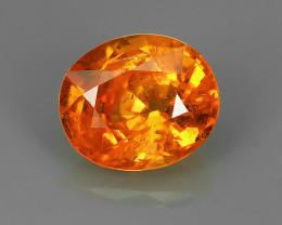2.20 Cts_Oval Cut_Marvelous_Electric Orange_Fanta_Sizzling_Spessarite_~GEM!
