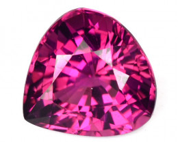 ~PRETTY~ 1.13 Cts Sweet Pink Natural Tourmaline Heart mix Pear Cut Mozambiq