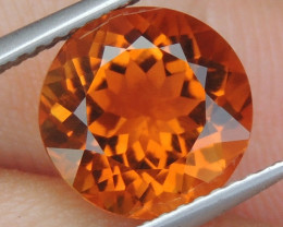 "3.21cts ""Craylola Orange"" Citrine,  Top Color"