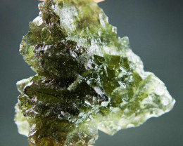 Certified Excellent Moldavite from Besednice