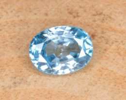 Natural Blue Zircon 1.82 Cts Top Luster Gemstone