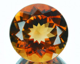 7.53Ct Natural American Topaz 12mm Round