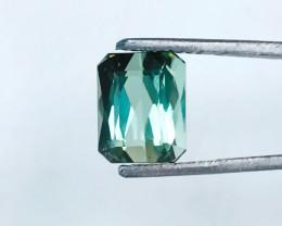 3.50 Ct Natural Greenish Transparent Tourmaline Ring Size Gemstone