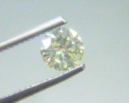 0.71ct  Fancy Light greenish Yellow Diamond , 100% Natural Untreated