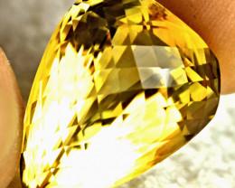 CERTIFIED - 44.55 Carat VVS1 Brazilian Fancy Citrine - Gorgeous