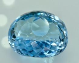 24.12 Crt Natural Topaz Faceted Gemstone.( AG 36)
