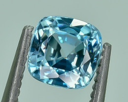 1.38 Crt Natural Zircon Faceted Gemstone.( AG 36)