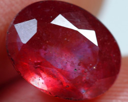 5.10cts Fantastic Blood Red Ruby Gemstone