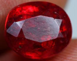 5.10cts Brilliant Blood Red Ruby Gemstone