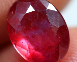 3.90cts Stunning Maroon Red Ruby Gemstone