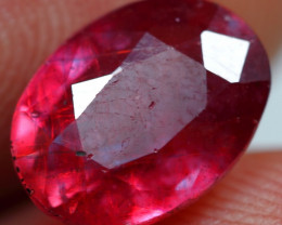 3.85cts Pink Red Ruby Gemstone