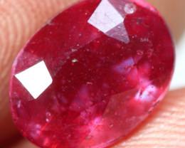 3.60cts Burgundy Red Ruby Gemstone