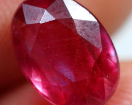 3.30cts Wine Red Ruby Gemstone
