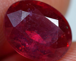 4.20cts Rosewood Red Ruby Gemstone
