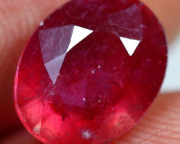 4.15cts Velvet Red Ruby Gemstone