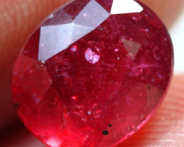 4.75cts Sparkling Pink Red Ruby Gemstone