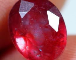 5.55cts Velvet Red Ruby Gemstone