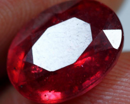 5.85cts Blood Red Ruby Gemstone