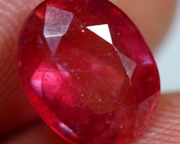 3.50cts Wine Red Ruby Gemstone