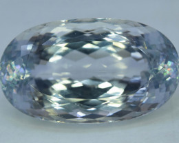 59.40 Carats Natural Aqua Color Kunzite Gemstone