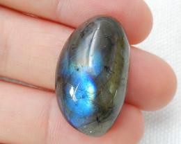 Sale 27.5ct Labradorite AAA Labradorite Cabochon, healing Stone C349