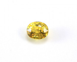 Vibrant Yellow 3.55ct Sapphire - CERTIFIED