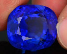 AAA Grade & Color 48.85 ct Royal Blue Sapphire